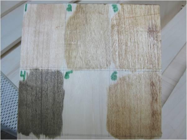 P30-stain splotches