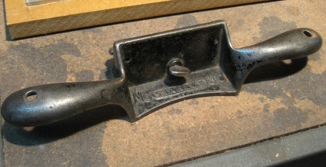 P06-Stanley No 80 Cabinet scraper-After rehabbing-full shot